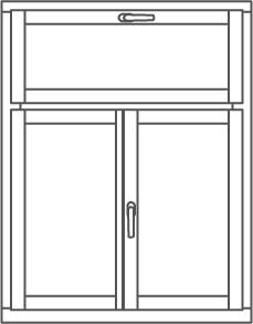 Technische skizzen r wert holzfenster t r for Fenster 3 teilig